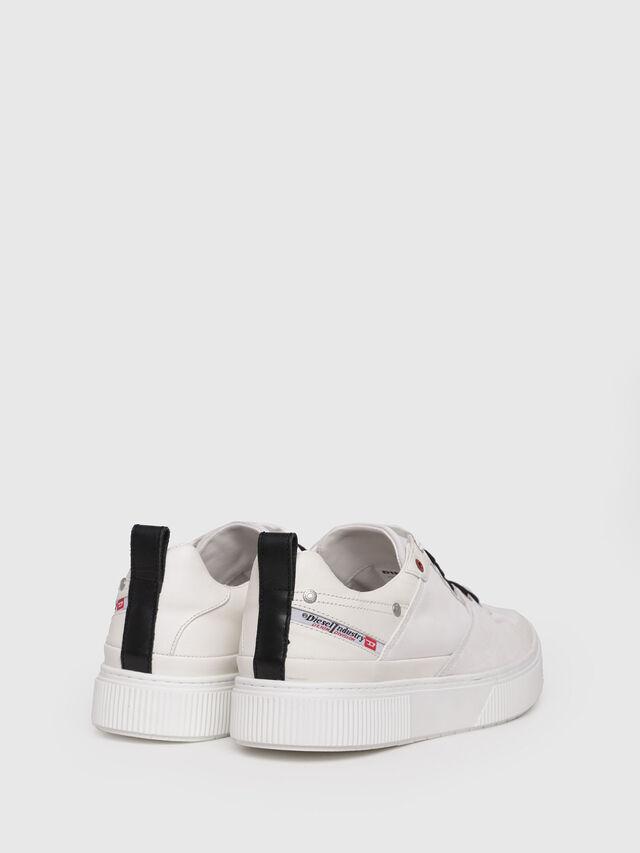 Diesel - S-DANNY LC, Cream - Sneakers - Image 2