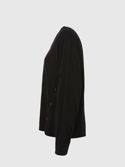 Diesel - M-TERESA, Black - Knitwear - Image 3