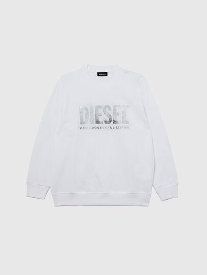 Diesel - SANGWX, White - Sweaters - Image 1