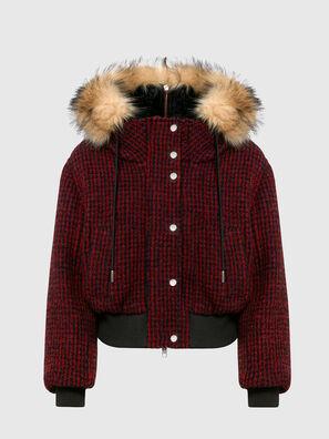 W-SAMOEI-A, Black/Red - Winter Jackets