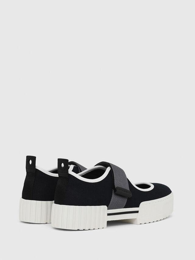 Diesel - H-MERLEY B, Black - Sneakers - Image 3
