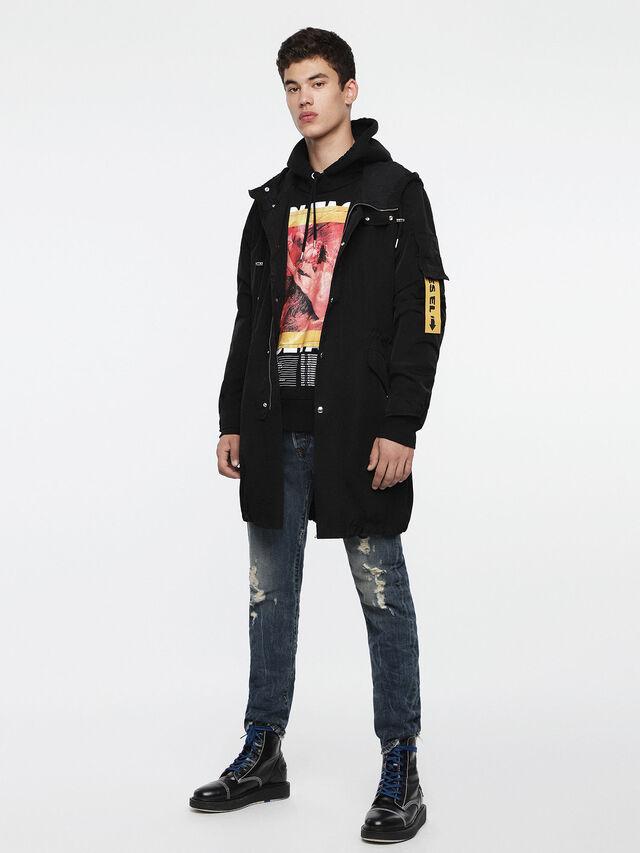 Diesel - J-CHIEF, Black - Jackets - Image 6