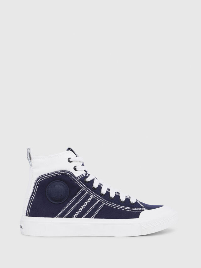 Diesel - S-ASTICO MID LACE W, Blue/White - Sneakers - Image 1