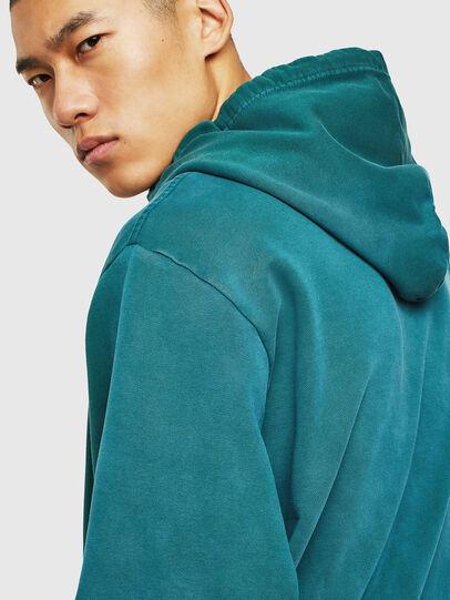 Diesel - S-GIRK-HOOD-SUN, Dark Green - Sweaters - Image 3