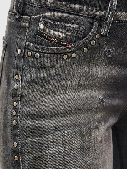 Diesel - Slandy 069QR, Black/Dark grey - Jeans - Image 4