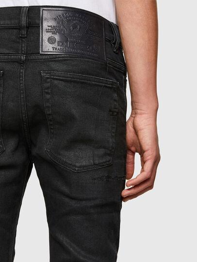 Diesel - D-Amny 009PZ, Black/Dark grey - Jeans - Image 4