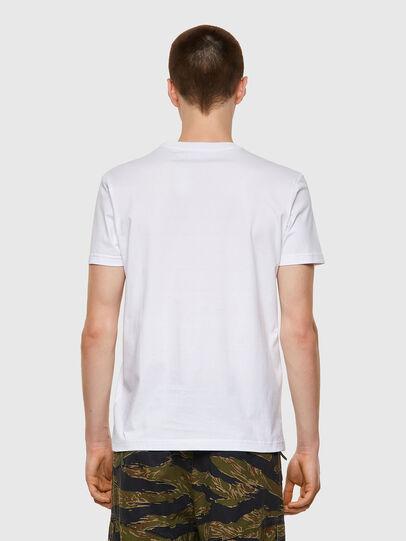 Diesel - T-DIEGOS-B3, White - T-Shirts - Image 2