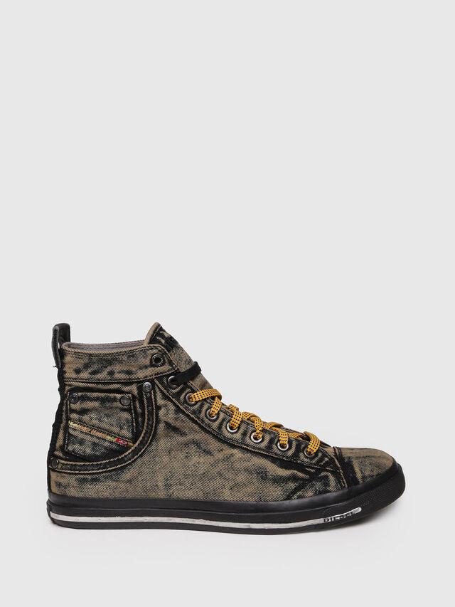 Diesel - EXPOSURE STRIPE, Yellow - Sneakers - Image 1