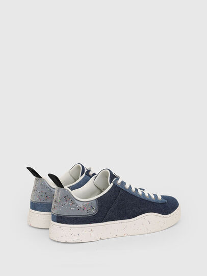 Diesel - S-CLEVER LOW LACE, Blue - Sneakers - Image 3