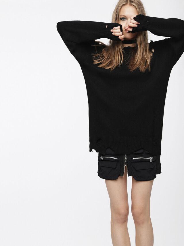 Diesel - M-PURE, Black - Knitwear - Image 1