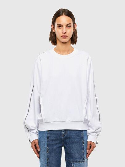 Diesel - F-ROSETTA, White - Sweaters - Image 1
