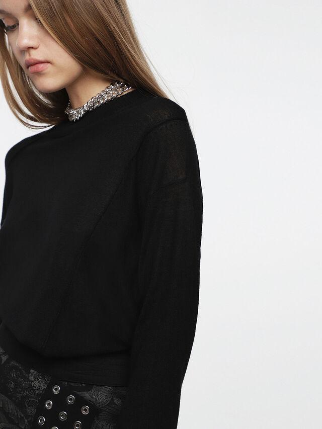 Diesel - M-AGG, Black - Knitwear - Image 3