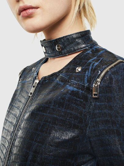 Diesel - D-MAYLA-SX-T, Dark Blue - Denim Jackets - Image 3