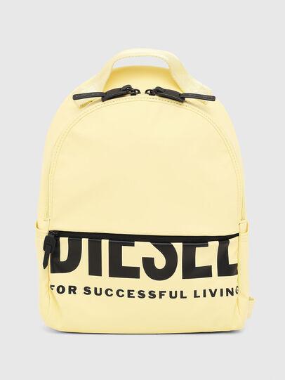 Diesel - F-BOLD BACK FL, Light Yellow - Backpacks - Image 1