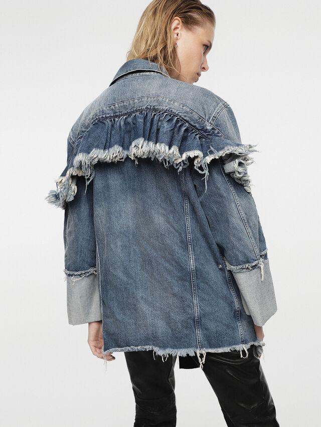 Diesel - HC-DE-VISEMAC, Blue Jeans - Denim Jackets - Image 4