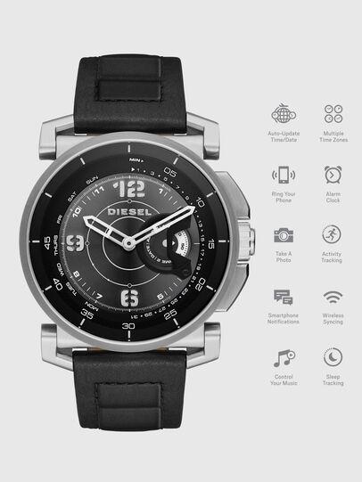 Diesel - DT1000, Black - Smartwatches - Image 1