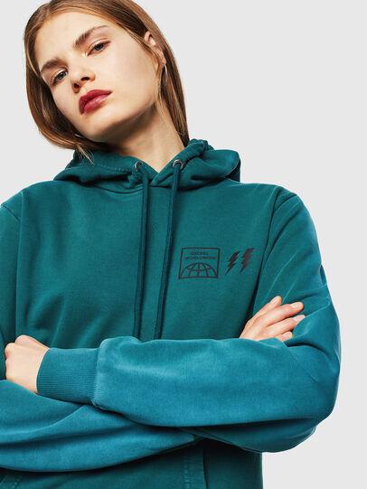 Diesel - S-GIRK-HOOD-SUN, Dark Green - Sweaters - Image 6