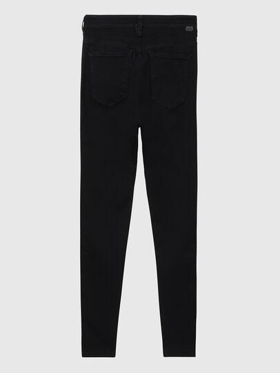 Diesel - Slandy High A69EF, Black/Dark grey - Jeans - Image 2