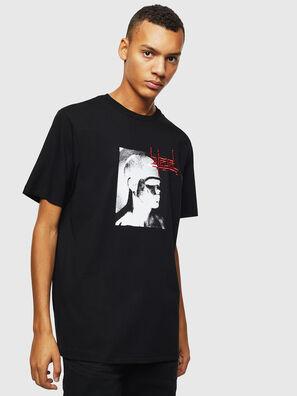 T-JUST-J21, Black - T-Shirts