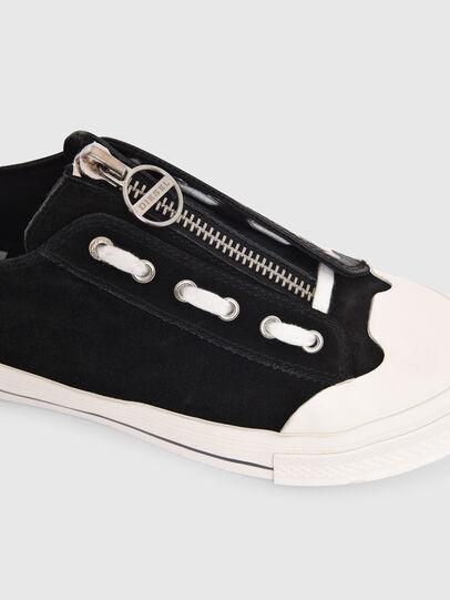Diesel - S-ASTICO LZIP W, Black - Sneakers - Image 4