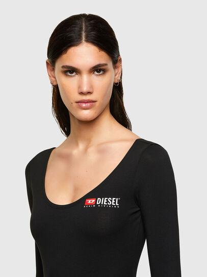 Diesel - UFTK-BODY-LS, Black - Bodysuits - Image 3