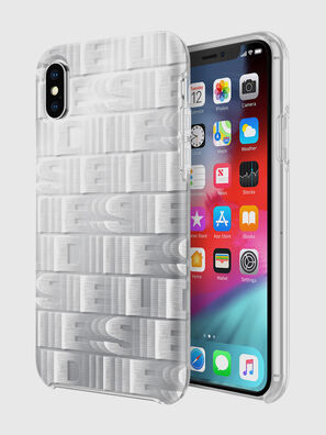 DIESEL PRINTED CO-MOLD CASE FOR IPHONE XS & IPHONE X, White - Cases