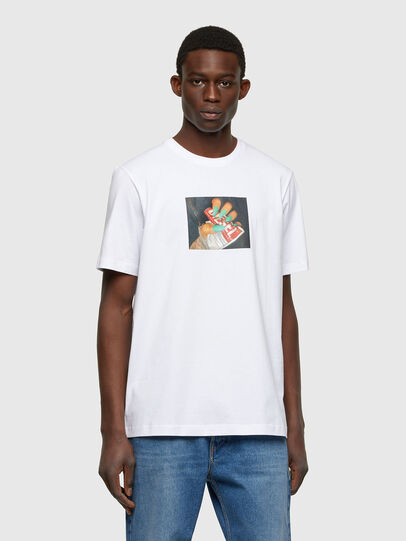 Diesel - T-JUST-A36, White - T-Shirts - Image 1