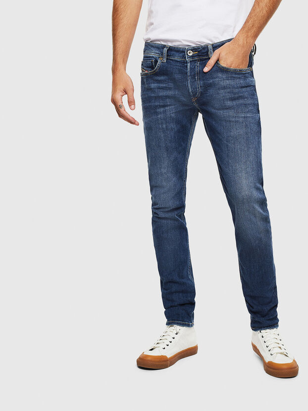 Sleenker 0095F, Dark Blue - Jeans