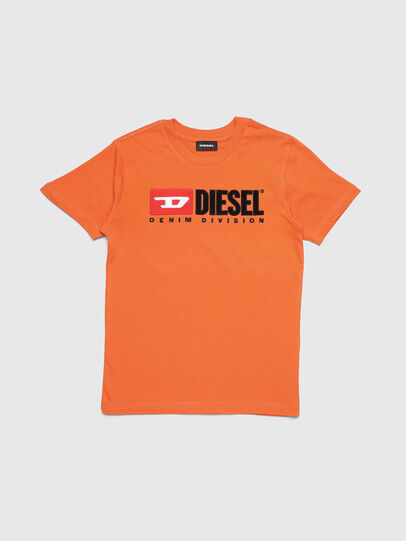 Diesel - TJUSTDIVISION, Orange - T-shirts and Tops - Image 1