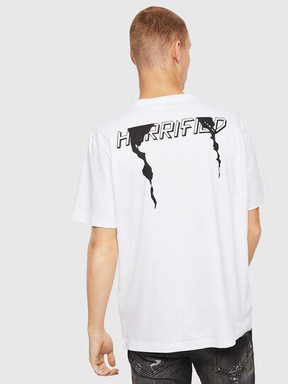 Diesel - T-JUST-J21, White - T-Shirts - Image 2