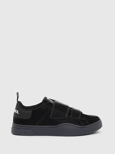 Diesel - S-CLEVER LOW STRAP W, Black - Sneakers - Image 1