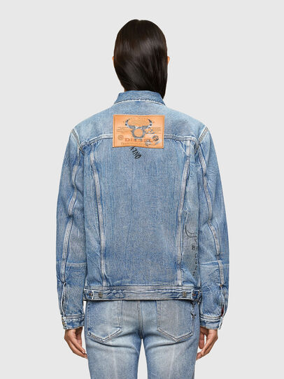 Diesel - CL-D-BIL, Light Blue - Denim Jackets - Image 4