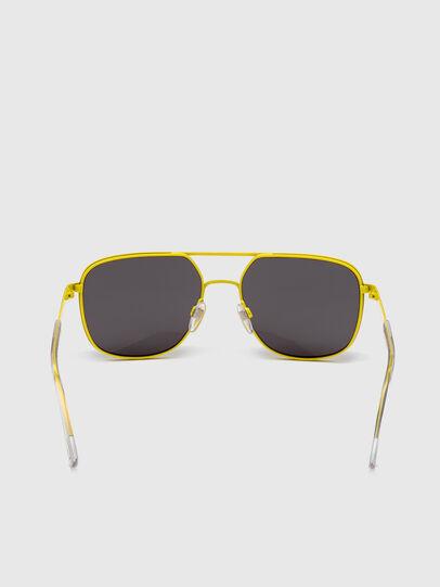Diesel - DL0325, Black/Yellow - Sunglasses - Image 4