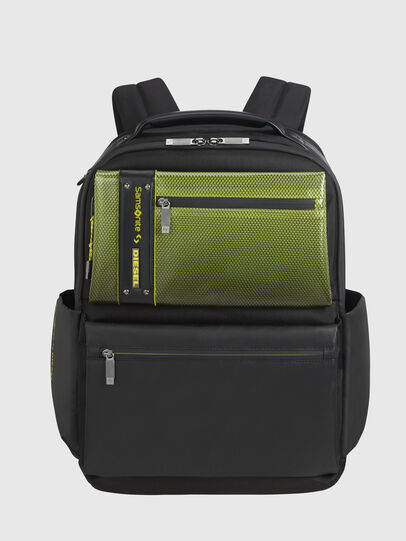 "Diesel - ""KB1*19001 - OPENROA, Black/Yellow - Backpacks - Image 1"