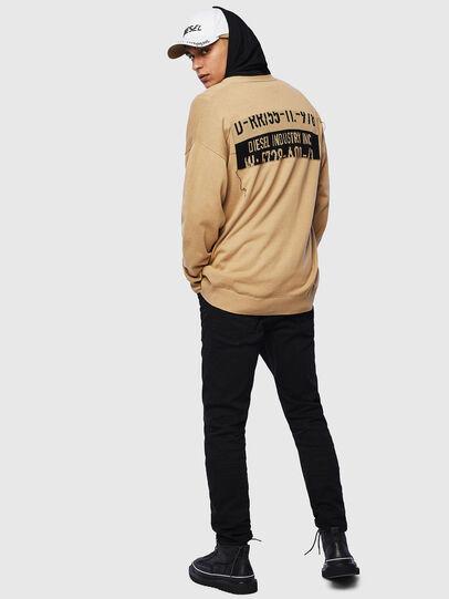Diesel - K-NEXIT, Beige - Knitwear - Image 4