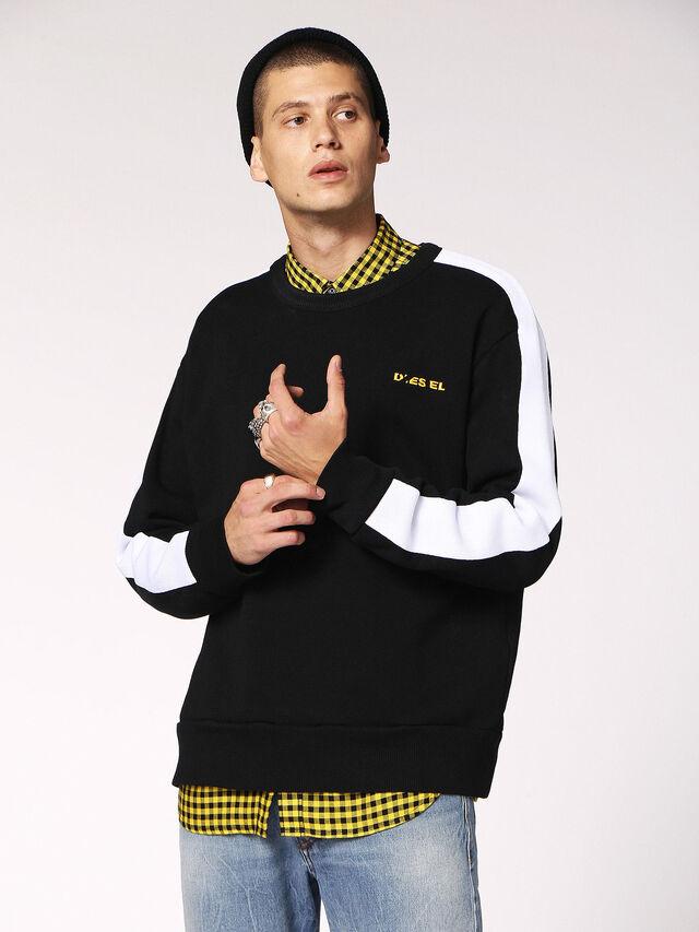 Diesel - S-MEGGY, Black - Sweaters - Image 1
