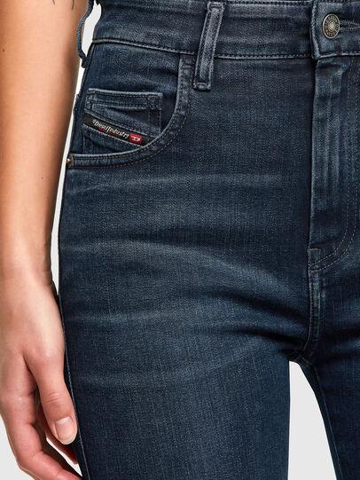 Diesel - Slandy High 009QF, Dark Blue - Jeans - Image 3