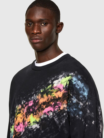 Diesel - S-MART-A92, Black - Sweaters - Image 3