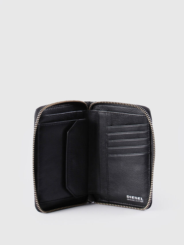 Diesel - JADDAA, Black Leather - Small Wallets - Image 4