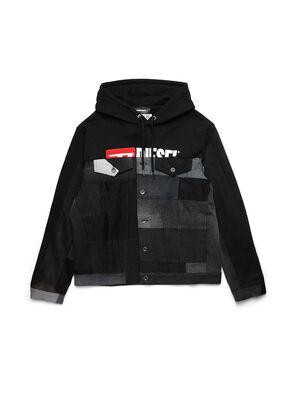 D-BNHILL55, Black - Denim Jackets