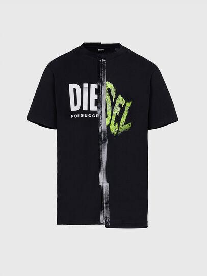 Diesel - T-JUBBLE-X2, Black - T-Shirts - Image 1