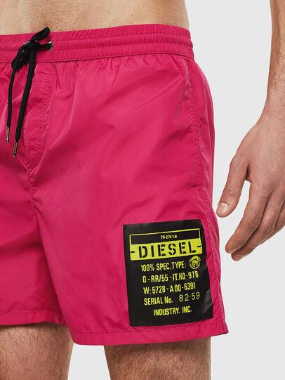 Diesel - BMBX-WAVE 2.017, Pink - Swim shorts - Image 4