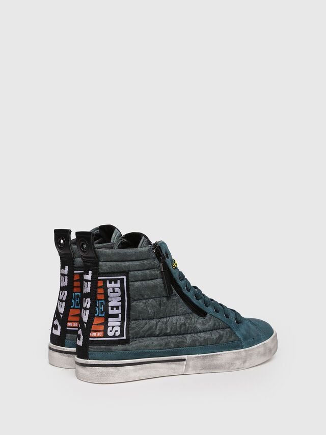 Diesel - D-VELOWS MID PATCH, Water Green - Sneakers - Image 2