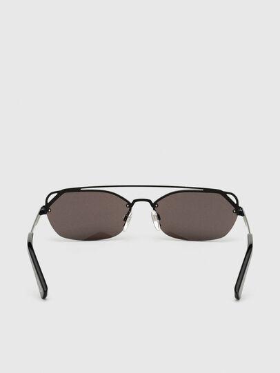 Diesel - DL0313, Black/Violet - Sunglasses - Image 4