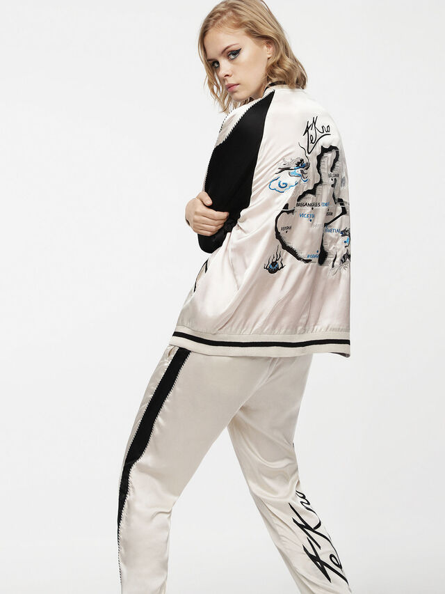 Diesel - G-FRANK-A, Off White - Jackets - Image 3