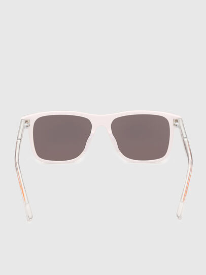 Diesel - DL0279, White/Orange - Sunglasses - Image 4