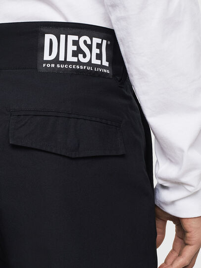 Diesel - P-COOLE, Black - Pants - Image 4
