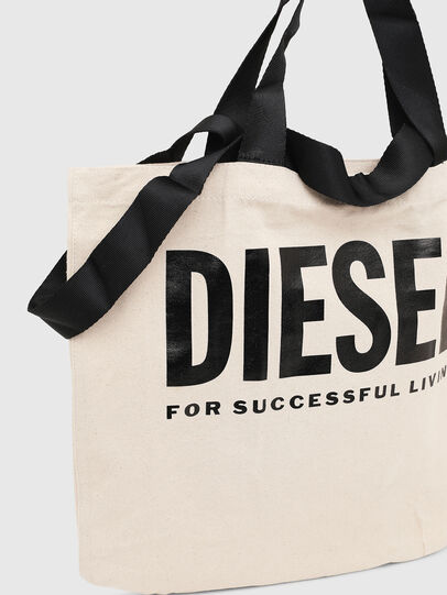 Diesel - LYVENZA, White/Black - Shopping and Shoulder Bags - Image 3
