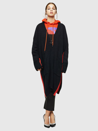 Diesel - M-SURI, Black/Red - Knitwear - Image 6