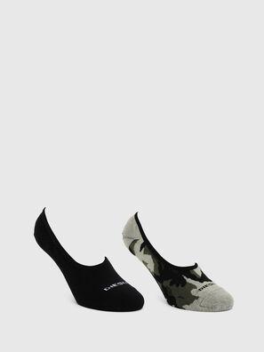 SKM-HIDEPAT-TWOPACK, Gray/Black - Socks